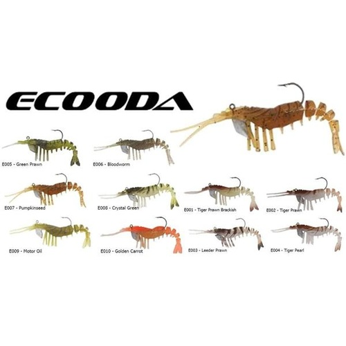 Ecooda Live Shrimp 89mm Lures