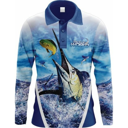 Tackle World Angler Series Marlin Shirt