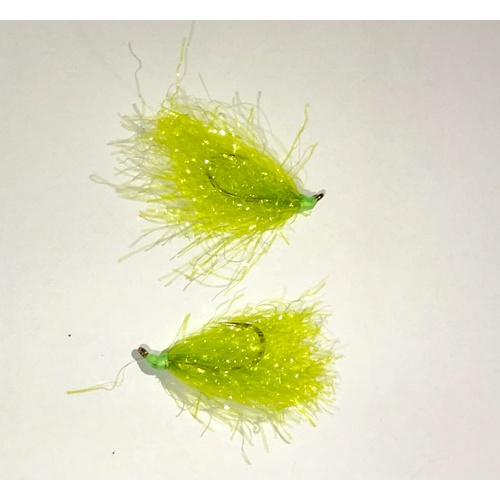 BWC Green String Weed Flies