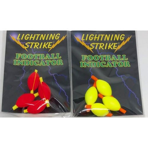 Lightning Strike Football Indicators Small