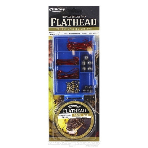 Flathead Species Tackle Pack
