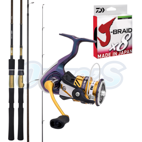 Bream Soft Plastic Hard Body Fishing Rod & Reel Combo