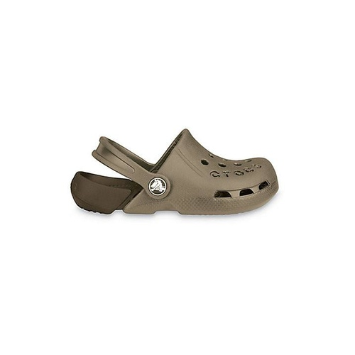 Crocs Electro Kids Brown + 3 Jibbitz