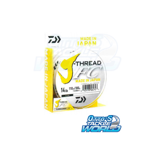 Daiwa J-THREAD Flouro Leader 50M Fishing Leader Line