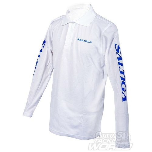 Daiwa Saltiga Long Sleeve Polo Shirt