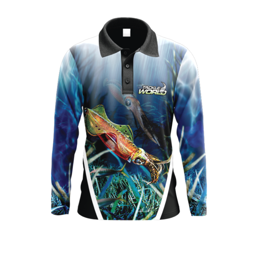Tackle World Angler Series Squid Boy's Shirt