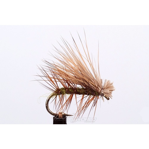 EJ Todd Caddis Flies Size 10