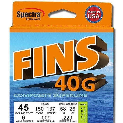 Fins 40g Comp Superline 150yds