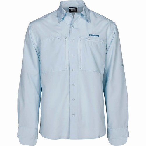 Shimano Vented Shirt Ice Grey