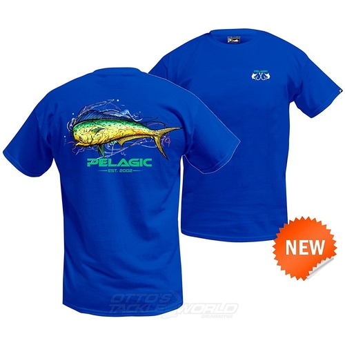 Pelagic Dorado Splash T-Shirt
