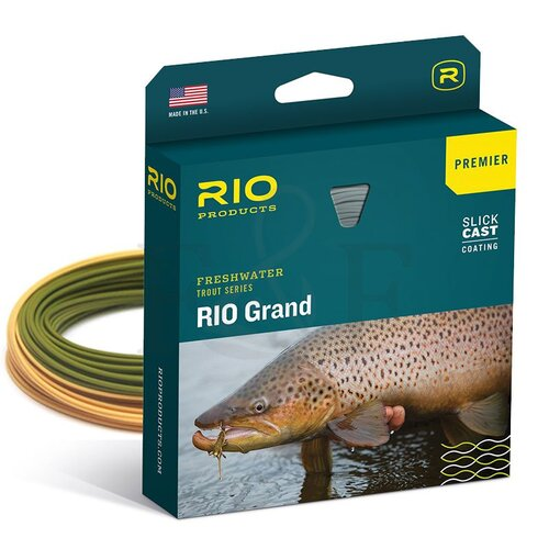 RIO Grand Fly Line (Camo Tan)
