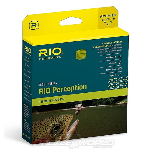 RIO Perception Fly Line Green/Camo/Tan