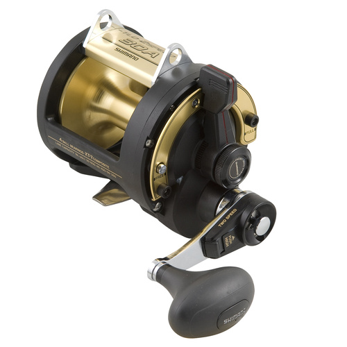Shimano TLD 2 Speed 50 LRSA Overhead Fishing Reel