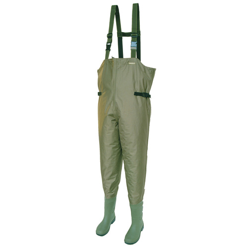 *REDUCED PRICE* Snowbee Nylon 210D Light Weight Chest Wader Cleated  Size 7 US