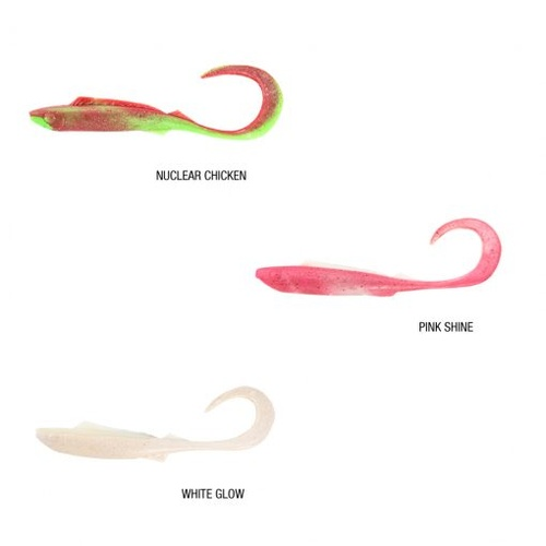 "Berkley Gulp Alive 6.5"" Nemesis Soft Plastic Lure - In Tub"